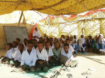 Solar Project for a basic School in Mahboba Village