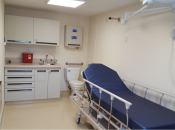 COVID-19 Containers Healthcare Facilities
