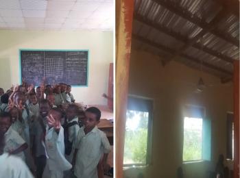 Maintenance of Al-Zakhira Primary School