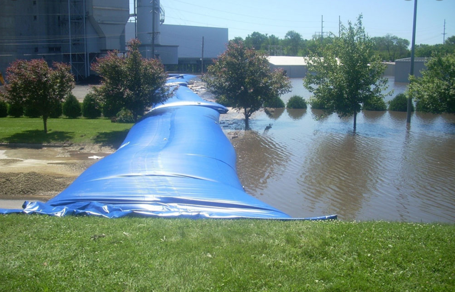 Polyester Tanks Flooding Protection