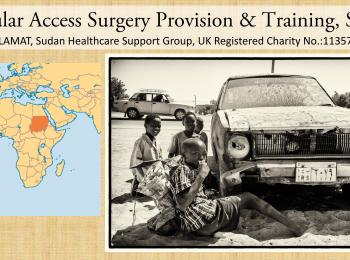 Vascular Access Surgery Provision & Training, Sudan