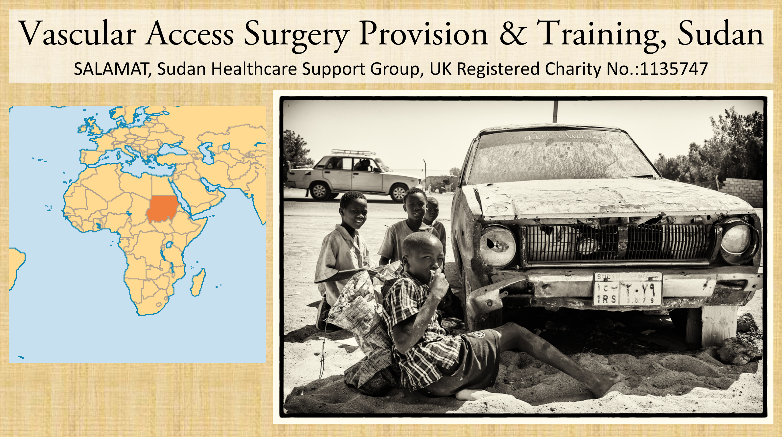 Vascular Access Surgery Provision & Training, Sudan